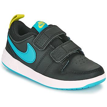 Chaussures Garçon Baskets basses Nike PICO 5 PS Noir / Bleu