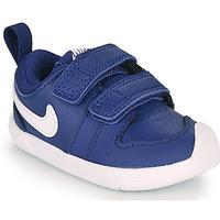 Chaussures Garçon Baskets basses Nike Pico 5 TD Bleu / Blanc