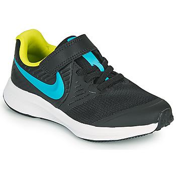 Chaussures Garçon Multisport Nike STAR RUNNER 2 PS Noir / Bleu