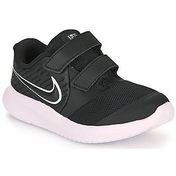 Chaussures Enfant Multisport Nike STAR RUNNER 2 TD Noir / Blanc