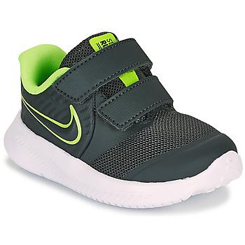 Chaussures Garçon Multisport Nike STAR RUNNER 2 TD Noir / Vert