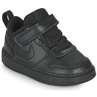 Chaussures Enfant Baskets basses Nike COURT BOROUGH LOW 2 TD Noir