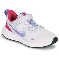 Chaussures Fille Multisport Nike REVOLUTION 5 PS Bleu / Violet