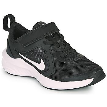 Chaussures Enfant Multisport Nike DOWNSHIFTER 10 PS Noir / Blanc