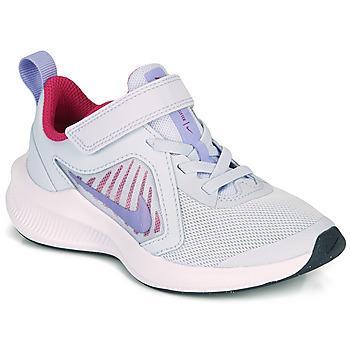 Chaussures Fille Multisport Nike DOWNSHIFTER 10 PS Bleu / Violet