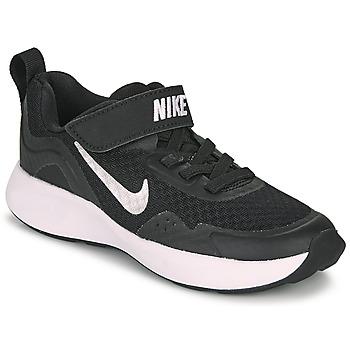 Chaussures Enfant Multisport Nike WEARALLDAY PS Noir / Blanc