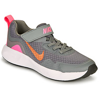 Chaussures Fille Multisport Nike WEARALLDAY PS Gris / Rose
