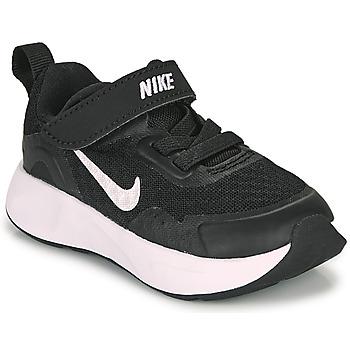 Chaussures Enfant Multisport Nike WEARALLDAY TD Noir / Blanc