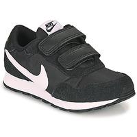 Chaussures Enfant Baskets basses Nike MD VALIANT PS Noir / Blanc