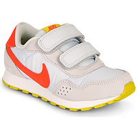 Chaussures Fille Baskets basses Nike MD VALIANT PS Beige / Rouge