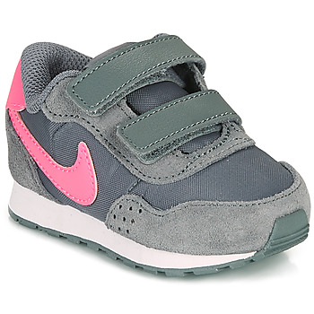 Chaussures Fille Baskets basses Nike MD VALIANT TD Gris / Rose