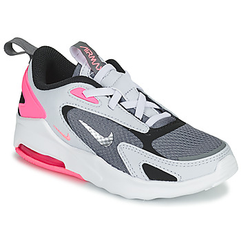 Chaussures Fille Baskets basses Nike AIR MAX BOLT PS Gris / Blanc / Rose