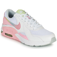 Chaussures Fille Baskets basses Nike AIR MAX EXCEE GS Blanc / Rose
