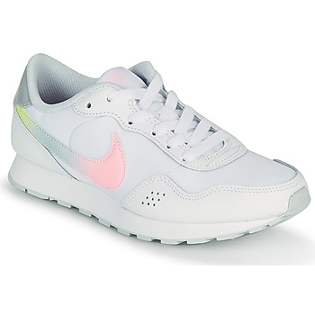 Chaussures Fille Baskets basses Nike MD VALIANT GS Blanc / Rose