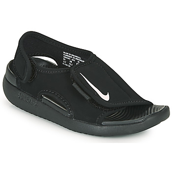 Chaussures Enfant Claquettes Nike SUNRAY ADJUST 5 V2 PS Noir