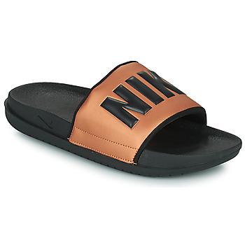 Chaussures Femme Claquettes Nike NIKE OFFCOURT Noir / Bronze