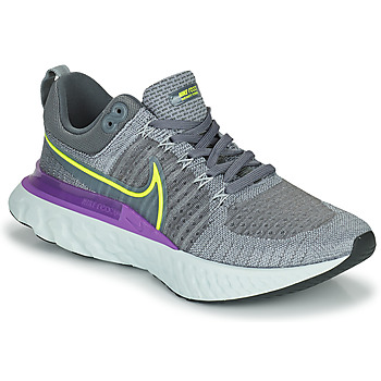 Chaussures Homme Running / trail Nike NIKE REACT INFINITY RUN FLYKNIT 2 Gris