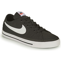 Chaussures Homme Baskets basses Nike NIKE COURT LEGACY CANVAS Noir / Blanc