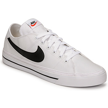 Chaussures Homme Baskets basses Nike NIKE COURT LEGACY CANVAS Blanc / Noir