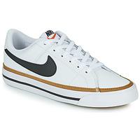 Chaussures Enfant Baskets basses Nike NIKE COURT LEGACY Blanc / Noir