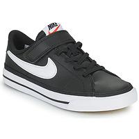 Chaussures Enfant Baskets basses Nike NIKE COURT LEGACY Noir / Blanc