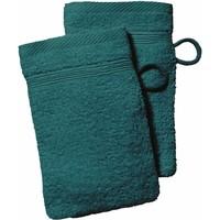 Maison & Déco Serviettes et gants de toilette Today Gant de toilette 16x21 coton EPONGE UNIE, EPONGE UNIE Vert