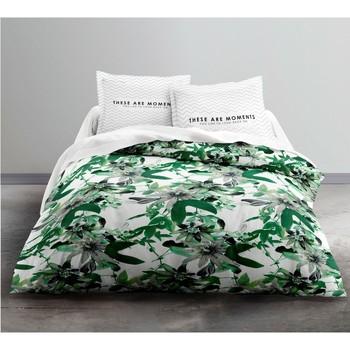 Maison & Déco Parures de lit Today Parure de housse de couette 260x240 coton PASSIFLORE Vert