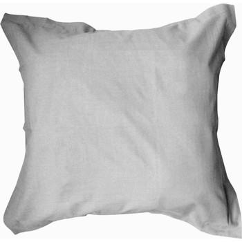 Maison & Déco Taies d'oreillers, traversins Oonook Taie d'oreiller, traversin 75x75 coton uni Blanc