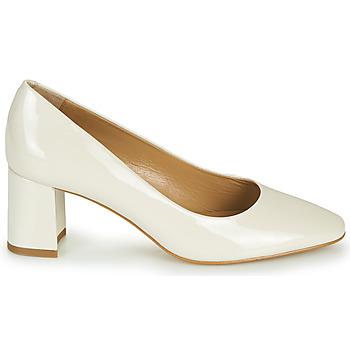 Chaussures Femme Ballerines / babies JB Martin NORMAN blanc