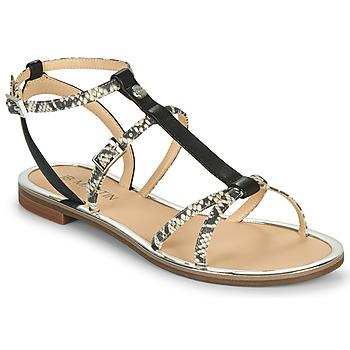 Chaussures Femme Sandales et Nu-pieds JB Martin 1GRIOTTES Blanc / Noir