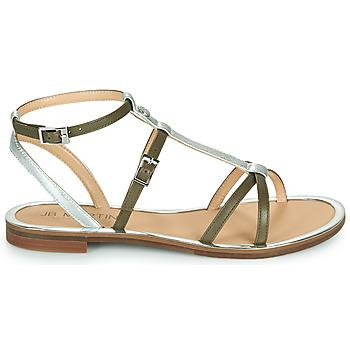 Chaussures Femme Sandales et Nu-pieds JB Martin 1GRIOTTES Kaki