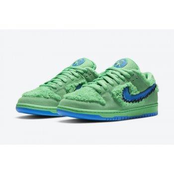 Chaussures Baskets basses Nike SB Dunk Low x Grateful Dead Green Green Spark/Soar