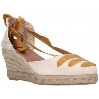 Chaussures Femme Espadrilles Carmen Garcia 41s5 mostaza Mujer Amarillo jaune
