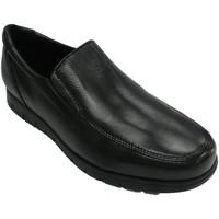 Chaussures Homme Mocassins Bartty Chaussure homme lisse avec semelle grass negro