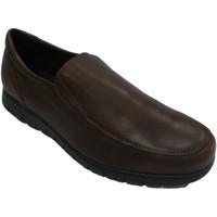 Chaussures Homme Mocassins Bartty Chaussure homme lisse avec semelle grass marrón
