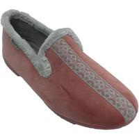Chaussures Femme Chaussons Muro Pantoufles femme fermées avec bordure de rosa