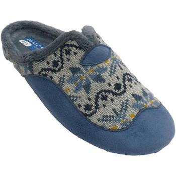 Chaussures Femme Chaussons Muro Chaussons femme ouverts au dos ouverture azul