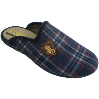 Chaussures Homme Chaussons Aguas Nuevas Baskets à carreaux homme dos ouvert avec azul