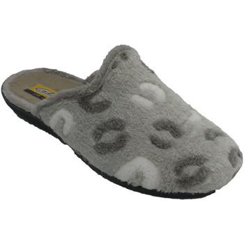 Chaussures Femme Chaussons Aguas Nuevas Pantoufles pour femmes ouvertes par derr beige