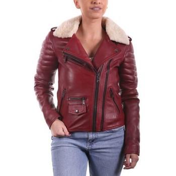 Vêtements Femme Vestes en cuir / synthétiques Ladc Victoire Rouge Rouge