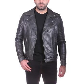 Vêtements Homme Vestes en cuir / synthétiques Ladc Jagger Skull Noir Noir