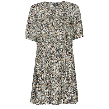 Vêtements Femme Robes courtes Vero Moda VMELIN Beige