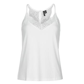 Vêtements Femme Débardeurs / T-shirts sans manche Vero Moda VMANA Blanc