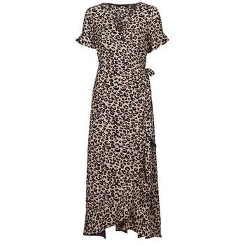 Vêtements Femme Robes longues Vero Moda VMSAGA Beige