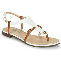 Chaussures Femme Sandales et Nu-pieds JB Martin 2GAELIA Blanc / Marron