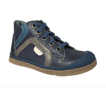 Chaussures Garçon Boots Noel Mini Olson bleu