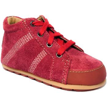 Chaussures Enfant Boots Noel Mini dou Rouge hermes