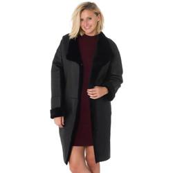 Vêtements Femme Vestes en cuir / synthétiques Intuitions Paris MALONE NOIR ZZ Noir