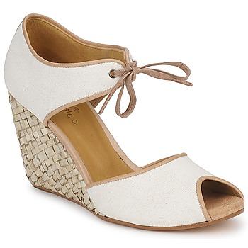 Chaussures Femme Sandales et Nu-pieds Coclico JIEN Blanc