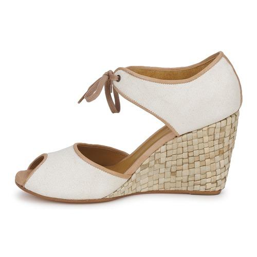 Blanc Nu Sandales Femme Jien pieds Et Coclico vmN80ynwO